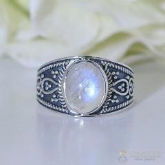 Moonstone Ring Royal Encore-GSJ