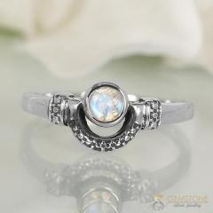 Moonstone Ring Royal Perfection-GSJ