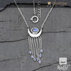 Moonstone Necklace - Moon Child