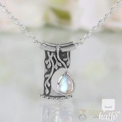 Moonstone Necklace - Night Soul