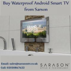 Buy Waterproof Android Smart TV from  Sarson.