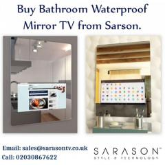 Buy Bathroom Waterproof Mirror TV from Sarson.