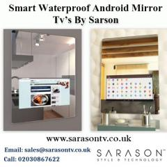 Smart Waterproof Android Mirror Tvs By Sarson