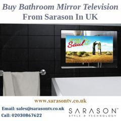Buy Bathroom Mirror Television From Sarason In UK
