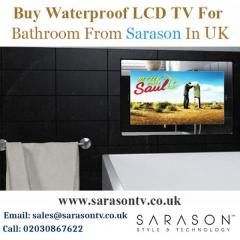 Buy Waterproof LCD TV For Bathroom from Sarason in UK