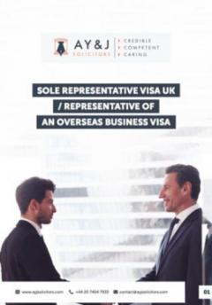 Sole Representative Visa UK