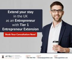 UK Tier 1 Entrepreneur Visa Extension