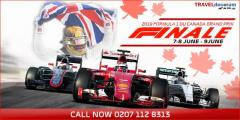 Hurry up Get Exclusive Canada Formula 1 2019 Packages