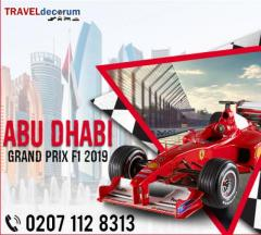 Book Abu Dhabi F1 Packages 2019 at TravelDecorum
