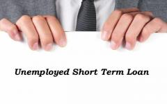 Save your Present and Future with Loans for Unemployed