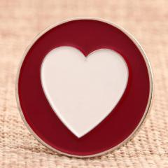 Love Circle Custom Hat Pins