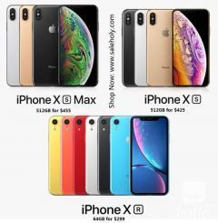 Wholesale iPhone XS XR 64GB-256GB - Factory Unlocked