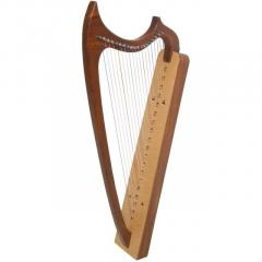 19-String Gothic Harp Rosewood