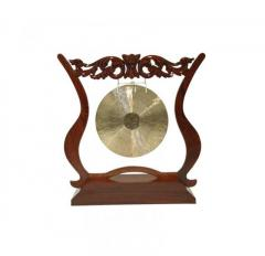 FRAME GONG STAND 14-INCH ROSEWOOD