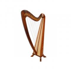 Buy Lever Harp 31 Strings Round back Rosewood - Mideast