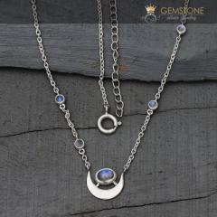 Moonstone Necklace - Old Soul - Gsj