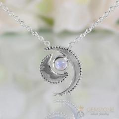 Moonstone Necklace - Wild Moon - Gsj