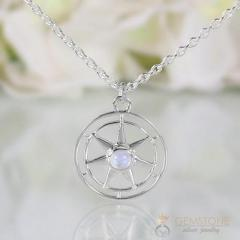Moonstone Necklace - Spirit Keeper - GSJ