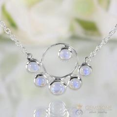 Moonstone Necklace - Moonstone Marvel - Gsj