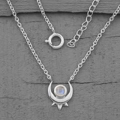 Moonstone Necklace - Secret Paragon - GSJ