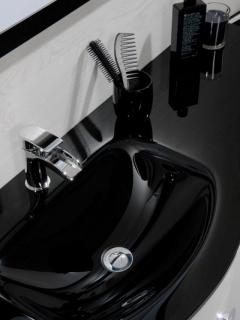 Cassellie D Shaped Basin Unit & Wc Unit