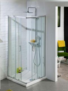 Cali Corner Entry Sliding Shower Enclosure