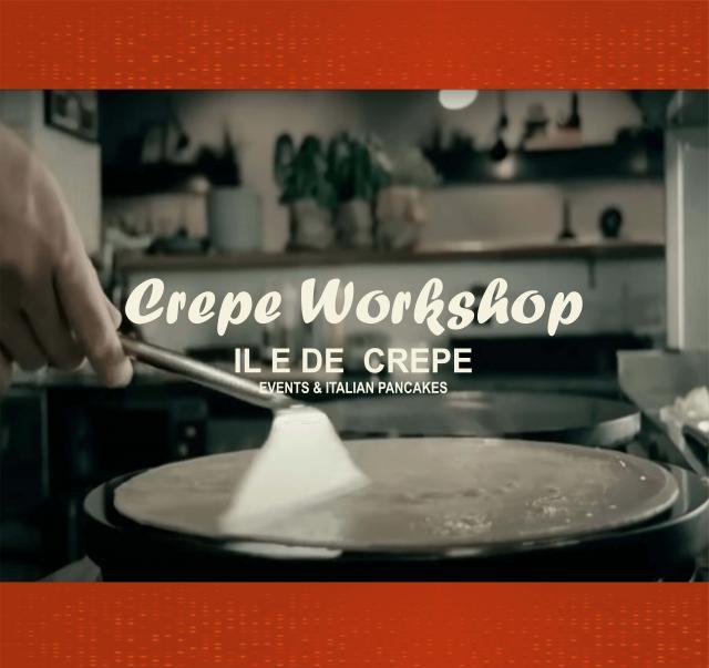 Crepe  Pancake Workshop  Online Cooking Class 6 Image