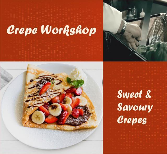 Crepe  Pancake Workshop  Online Cooking Class 3 Image