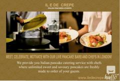PANCAKES - CREPES CATERING FOR YOUR PARTIES, EVENTS LND