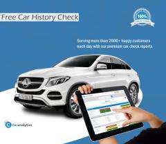 Check Car History Free