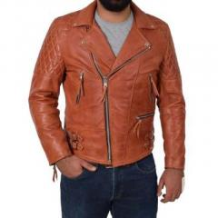 Latest Collection of Mens Biker Leather Jackets in Lond