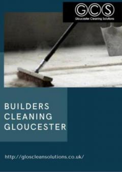 Builders Cleaning Gloucester