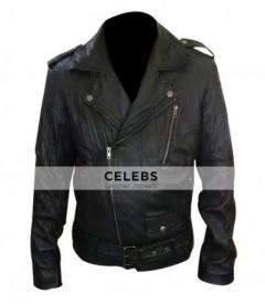 Ryan Gosling MTV Movie Award Black Biker Leather Jack