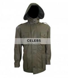 Killing Season John Travolta Emil Kovac Leather Coat