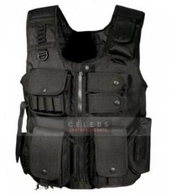 WWE Roman Reigns The Shield Tactical Leather Vest