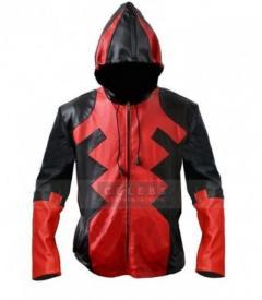 Deadpool Ryan Reynolds Full Zip Cosplay Costume Hooded