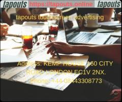 tapouts touchscreen advertising