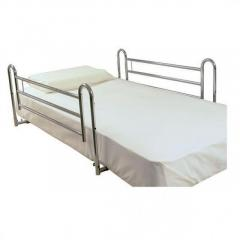 Telescopic Full Length Siderail Single Bed - Essentia