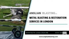 Metal sandblasting & metal restoration services London