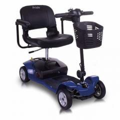 Buy black color apex lite portable mobility scooter
