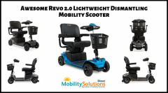 Get Revo 2.0 Lightweight Dismantling Mobility Scooter