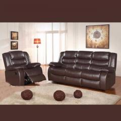 Chicago Brown Recliner Sofa 31