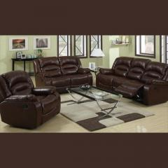 Chicago Brown Recliner Sofa