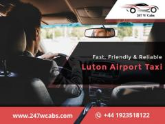 Get the Best and Luxury Airport Transfer Taxi in Luton.