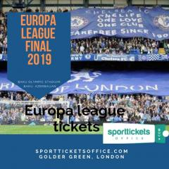 Purchase Europa league tickets online in a hassle-free