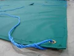 Waterproof Green Tarpaulin 150gsm Heavy Duty Ground