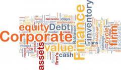Get Corporate Finance Assignment Help Service