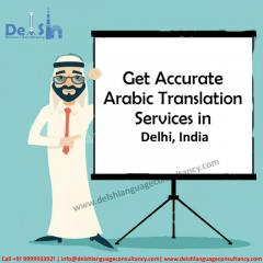 Arabic Translation Services in India