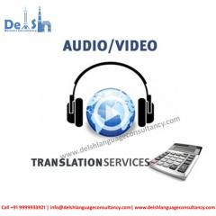 Audio Video Translation company in India