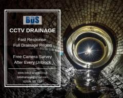 CCTV Drain Surveys London - Drain CCTV Inspection